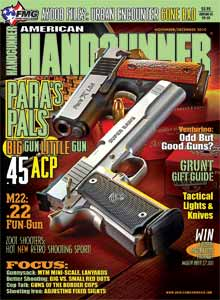 American Handgunner Nov/Dec 2010