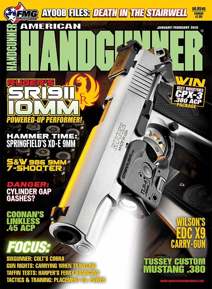 American Handgunner Harpers Ferry Armory Handguns - American