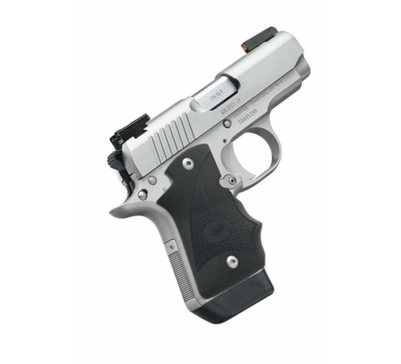 American Handgunner Kimber Micro 9 Stainless DN - American