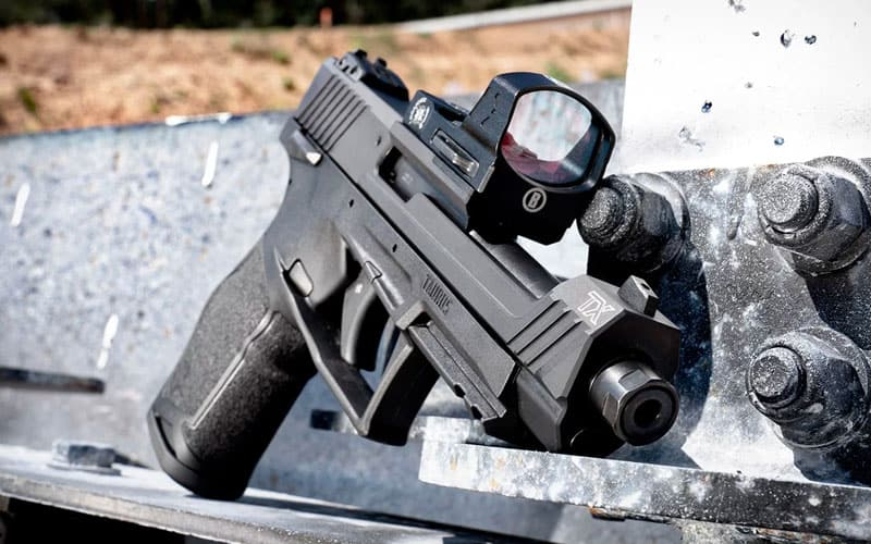 Taurus TX22 Competition with Leupold DeltaPoint PRO