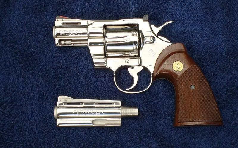 Colt Python with 2