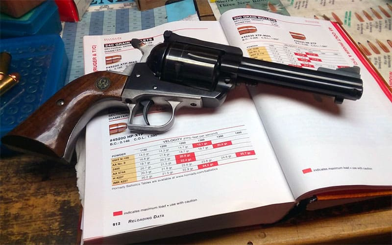 Ruger Blackhawk .45 Colt load development